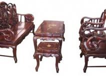 Salon gỗ SLG-006
